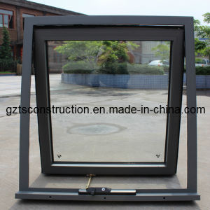 Aluminium Awning Window with As2208 Double Glazing Glass with Flyscreen pictures & photos