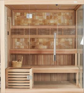 Monalisa New Fashion Design High Class Dry Sauna Room (M-6048) pictures & photos
