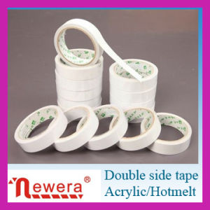 Adhesive Tissue Tape Roll Double Sides pictures & photos