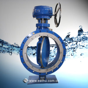 Double Offset Metal Seal Butterfly Valve pictures & photos
