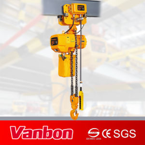 Vanbon 5ton Moved Type Electric Chain Hoist with Electric Trolley pictures & photos