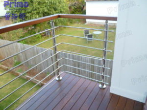 Fashionable Design Stainless Steel Solid Round Bar Balustrade pictures & photos