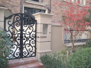 Super Quality Design Decorative Wrought Iron Gates pictures & photos