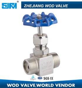 Screwed End Stainless Steel Needle Valve pictures & photos