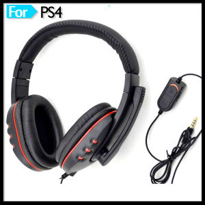 Hot Selling PC Wired Game Headphone with Mic pictures & photos