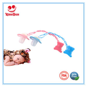PP Detachable Newborn Baby Pacifier Clips pictures & photos