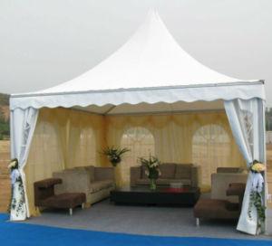 4X4m Aluminum Pagoda Tent Curtain Decoration Vendor Booth pictures & photos