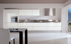Island Style Acrylic Kitchen Cabinets (zv-006) pictures & photos