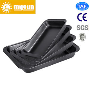 Aluminium Non-Stick Sheet Pan Baking Trays with Coating pictures & photos