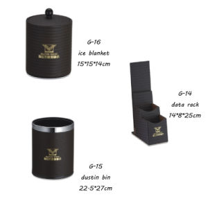 Leather G Leather Product Hotel Leather PU Tissue Box pictures & photos