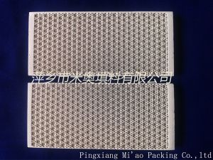 Thermal Storage Honeycomb Ceramic Plate (162X62)