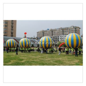 Outdoor Sport Games Inflatable Giant Ball Lifting Racing Games