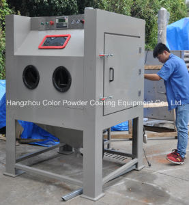 Colo-1212 Sand Blasting Cabinet Ideal for Wheels and Parts pictures & photos