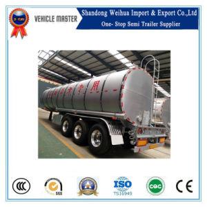35000L 40t 3 Axles Bitumen Pitch Asphalt Tank Semi Trailer pictures & photos