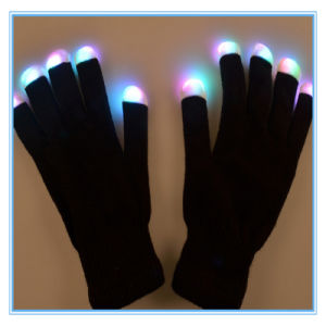 Hallowmas LED Flashing Dance Gloves for Performance pictures & photos