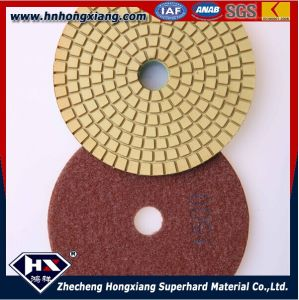 4′′wet Diamond Polishing Pads for Concrete Floor and Granite pictures & photos