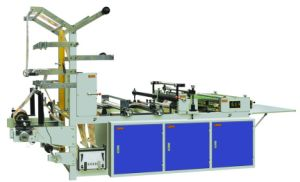 Auto Side Hot Cutting Bag Making Machine pictures & photos