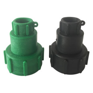Moveable Adapter--Black and Green