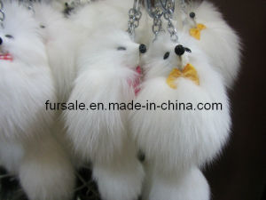 Fox Tail Key Ring / Fox Tail Key Chain (key chain-16)