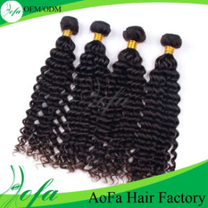 Soft and Smooth 7A Deep Wave Human Virgin Hairpiece pictures & photos