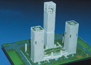 Architectural Scale Model, Commercial Model Building (JW-196) pictures & photos