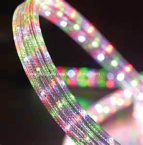Flat Sharp, Different Colors, AC100-240V, RGB LED Rope Light pictures & photos