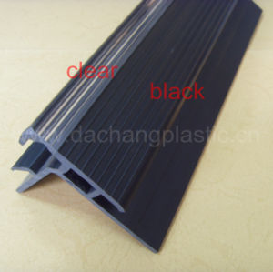 PVC Plastic Profile for Theater Step Light pictures & photos