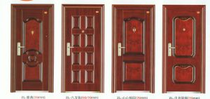 Single Leaf Steel Door pictures & photos