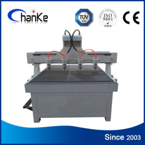 4 Heads Router CNC Multi Spindle for Wood Chair MDF pictures & photos