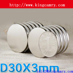 Disc NdFeB Magnet Round Neodymium Magnets pictures & photos