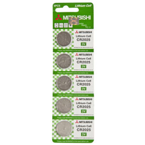 Mitsubishi Lithium Battery / Button/ Coin Cell (CR2025)