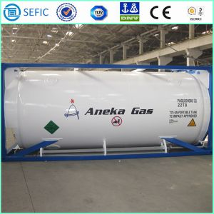 LNG Lco2 Lin Lar Cryogenic Tank Container (SEFIC-T75) pictures & photos