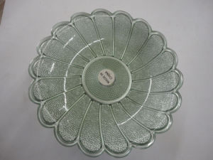Hot Sale Plastic Decorative Fruit Tray Plate pictures & photos