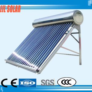 High Pressure Stainless Steel Heat Pipe Vacuum Tube Solar System Solar Hot Collector Water Heater pictures & photos