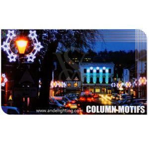Beautiful Landscape Square Decoration Light LED Pole Motif Light pictures & photos