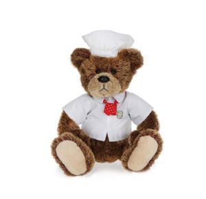 Super Soft and Stuffed Chef Plush Teddy Bear Toy pictures & photos