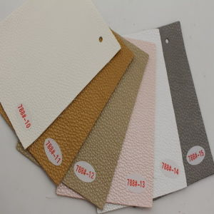 Widely Used De 90 PU PVC Synthetic Leather (Hongjiu-788#) pictures & photos
