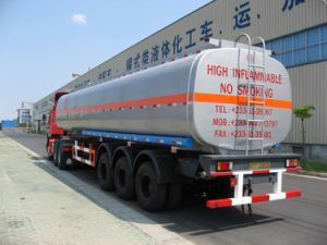 39000L SUS Tank Transportation for Chemical Fluid Delivery (HZZ9401GHY) pictures & photos