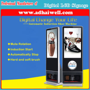 Full HD LCD Display Advertising Shoe Polishing and Cleaning Machine Digital Signage pictures & photos