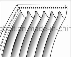 Moulded Elastic Rubber Poly V Belt Conveyor Belt for Logistic Transmission