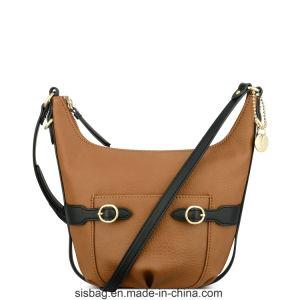 Designer Contrast Color Dumpling Bag Stitching Hobo Bag pictures & photos