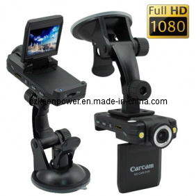 Vehicle Black Box Full HD 1080P 2.0 Inch LCD Screen H. 264 5.0 Mega Pixel Car DVR pictures & photos