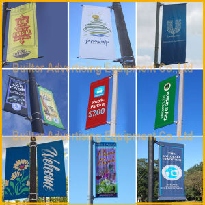 Metal Street Pole Advertising Poster Stand (BS-HS-050) pictures & photos