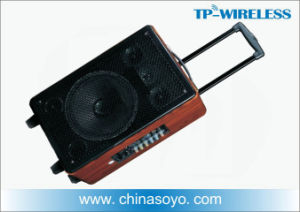 Wireless Trolley Speaker and Microphone for Outdoor Teaching, Dancing, Picnic pictures & photos