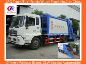 Heavy 4X2 Dongfeng 8tons Garbage Compression Compactor Truck pictures & photos