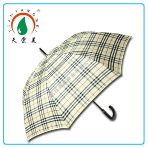 "27"" Auto Open Straight Golf Umbrella"
