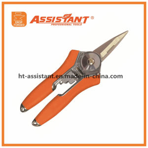 Straight Pruning Snips Garden Tool Scissor Shears Compact Pruner pictures & photos