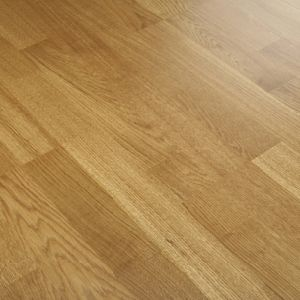 Natural Color Smooth French Oak Solid Wood Engineered Flooring