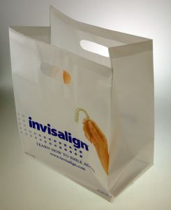 HDPE Printed Die Cut Plastic Bags for Food (FLD-8563) pictures & photos