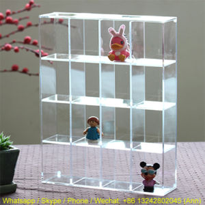 Creative Acrylic Figures Display Box pictures & photos